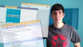 Überblick der Fenster in Visual Studio